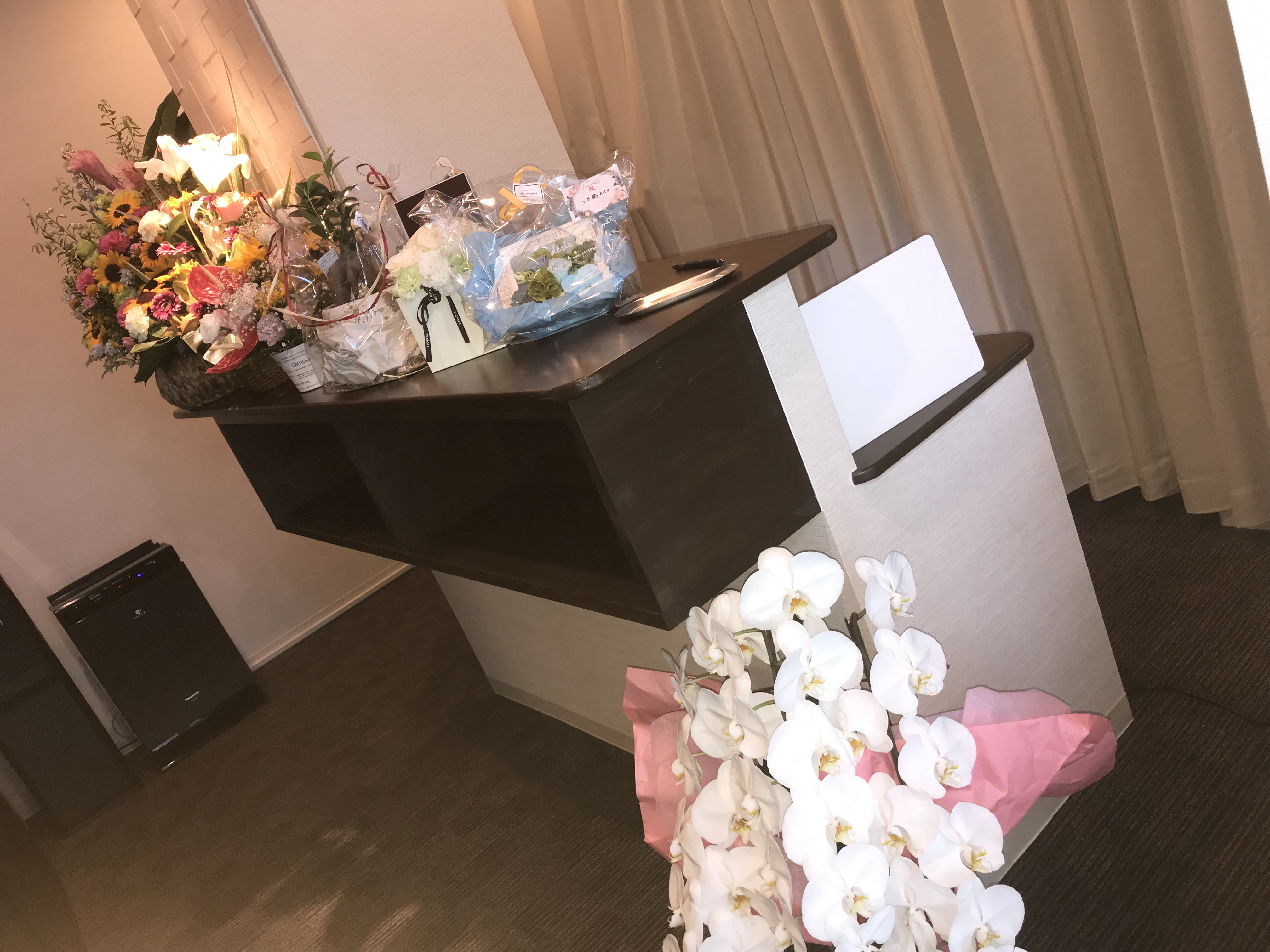 奈良カイロ西大寺整体院 開店祝い