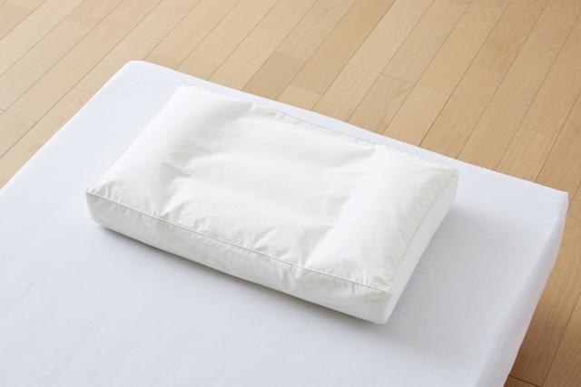 布団の上の枕 奈良市整体