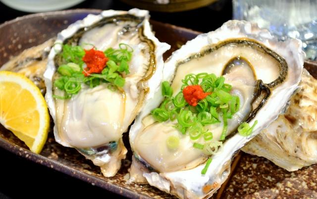 牡蠣料理 奈良マッサージカイロ